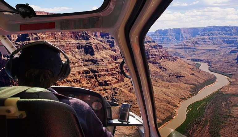 Grand Canyon Helicopter Tour Inside Out
