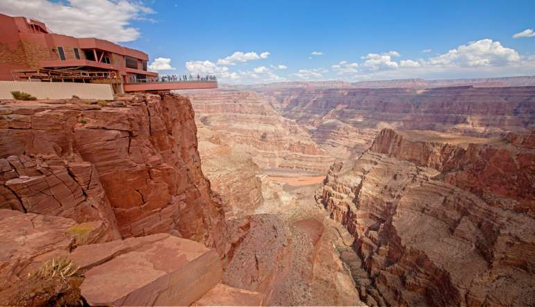 Grand Canyon Helicopter Tour Viewing Deck