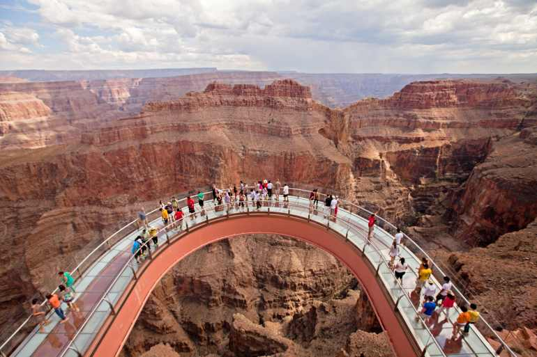Grand Canyon Helicopter Tour West Rim Skywalk Express Tour 70 Min