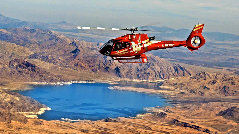 Grand Canyon Helicopter Tour over Lake Mead