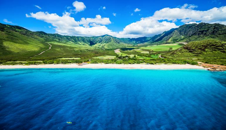 Helicopter Tour Oahu Shoreline