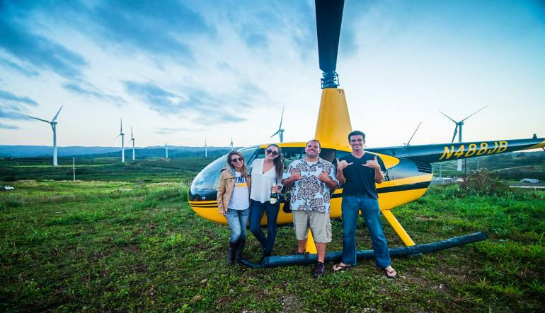 Helicopter Tour Oahu Happy Customers