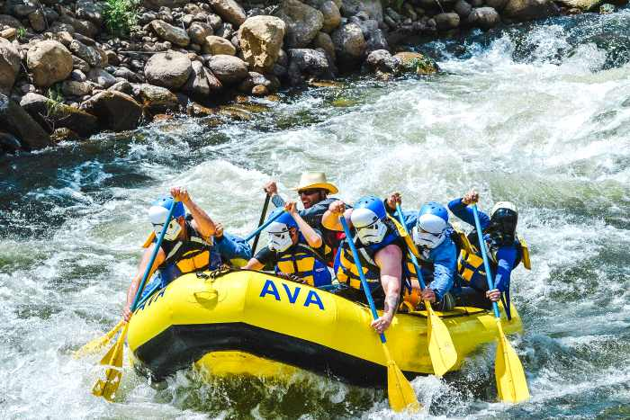 Whitewater Rafting Near Denver, Upper Clear Creek 1/2 Day Intermediate