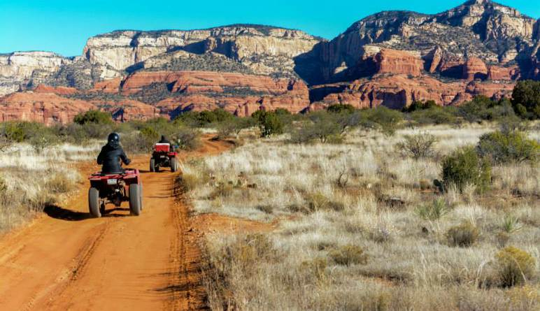 ATV Sedona Canyon Guided Tour - Single Rider, 3 Hours