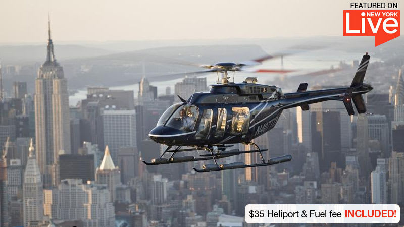 Helicopter Tour NYC City Skyline