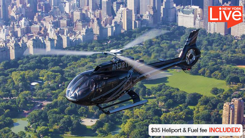 Helicopter Tour NYC Central Park