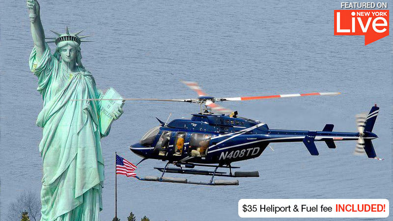 Helicopter Tour NYC Statue of Liberty