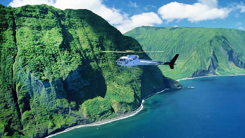Helicopter Tour Maui Aircraft