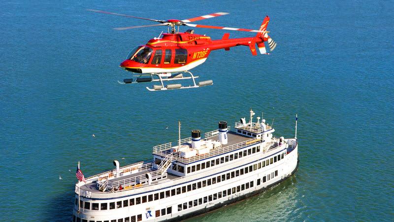 Helicopter Rides San Francisco Cruise Ship