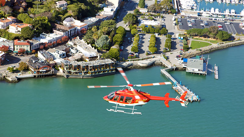Helicopter Rides San Francisco Landscape
