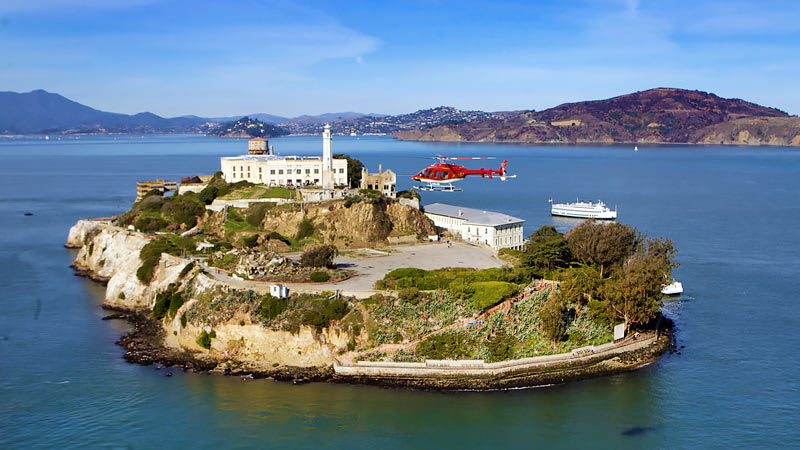 Helicopter Rides San Francisco Island