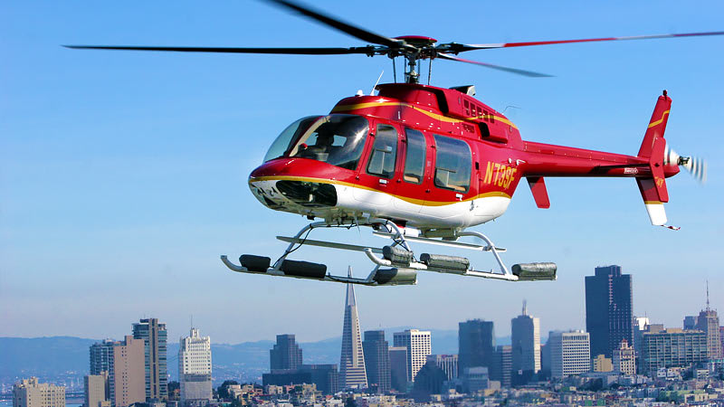 Helicopter Rides San Francisco City Skyline