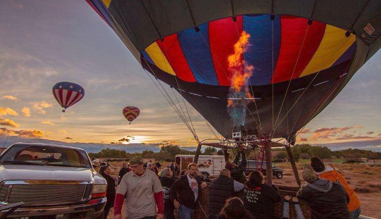 Hot Air Balloon Rides Phoenix Sunset