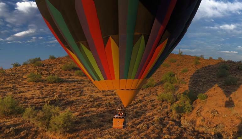 Hot Air Balloon Ride Phoenix Balloon