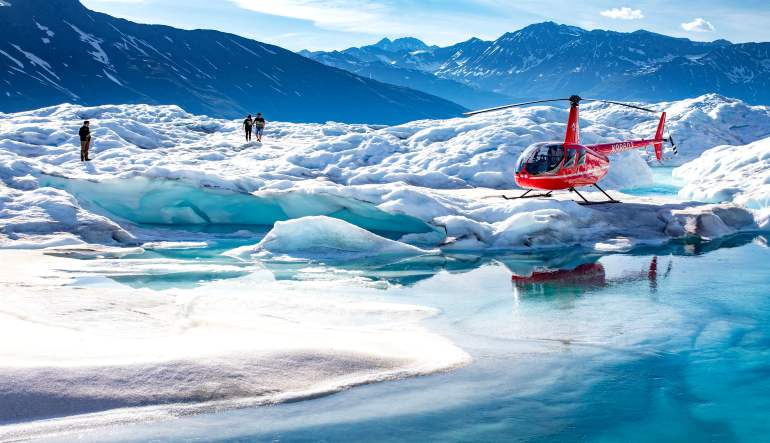Helicopter Tour Anchorage Alaska