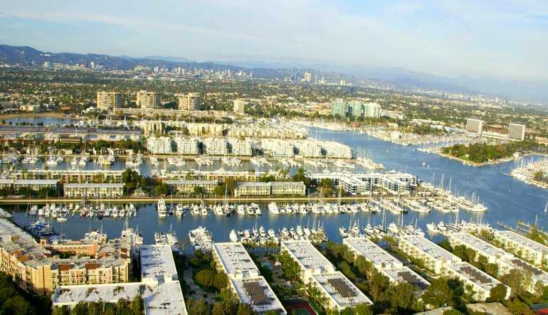 Helicopter Ride Los Angeles Marina Del Rey