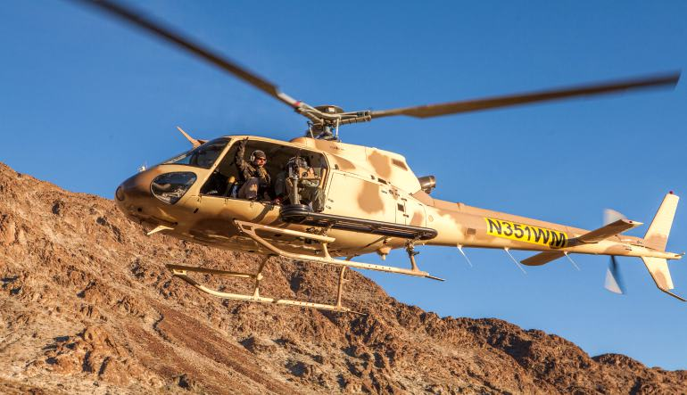 Aerial Shooting Helicopter Tour Las Vegas