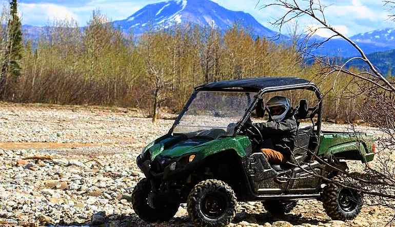 ATV Guided Tour Denali, Wilderness Adventure - 90 Mins (Denali Shuttle Available!)