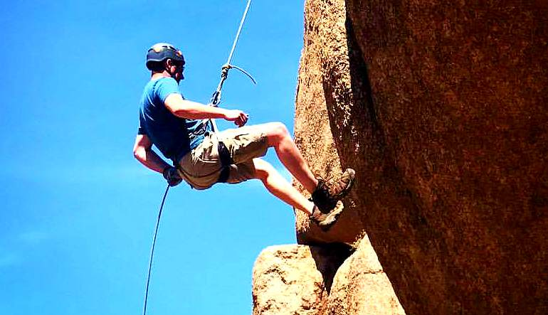 Rappelling Tour Phoenix, Papago Buttes - Half Day Trip