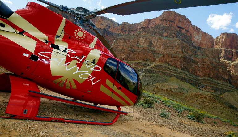 Grand Canyon Helicopter Tour Aircraft