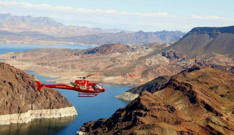 Grand Canyon West Rim and Vegas Strip Helicopter Tour
