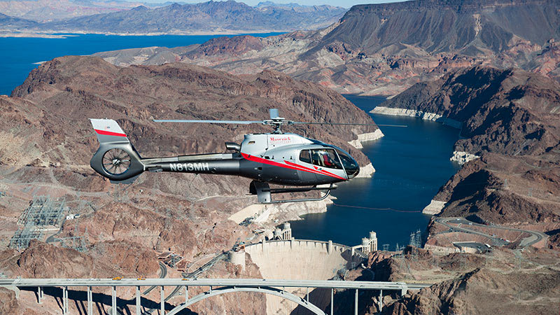 Grand Canyon Helicopter Ride Over The Dam
