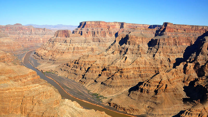 Grand Canyon Helicopter Ride Landscape