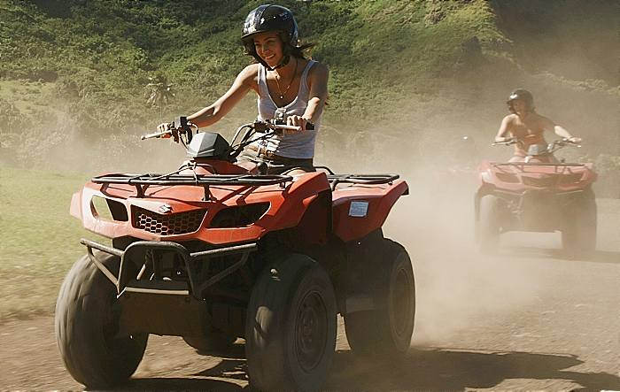 ATV Guided Tour Oahu Lady