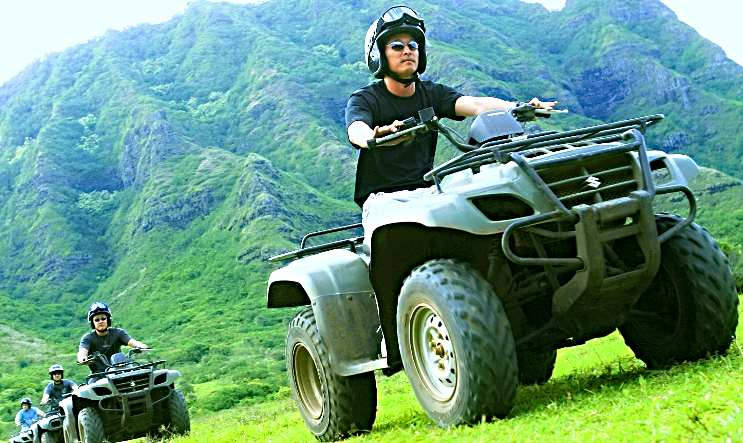 ATV Guided Tour Oahu Gentleman