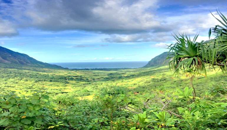 Horseback Riding Oahu, Kualoa Ranch Landscape
