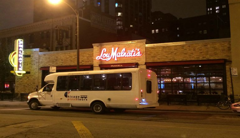Chicago Pizza Tours Bus