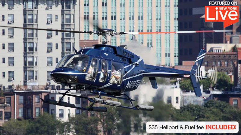 Helicopter Ride New York City - 30 Minutes