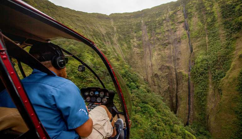Private Helicopter Tour Big Island Waterfalls - 75 Minutes