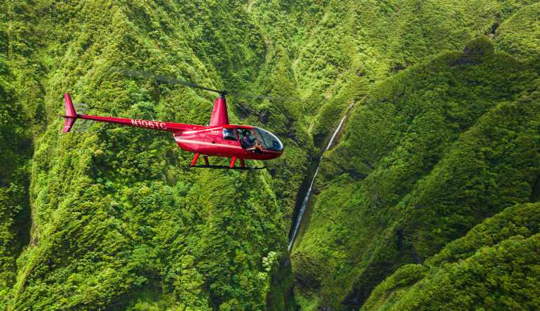 Private Helicopter Tour Oahu, Magic South Island Adventure - 45 Minutes (Includes Waikiki Hotel Shuttle)