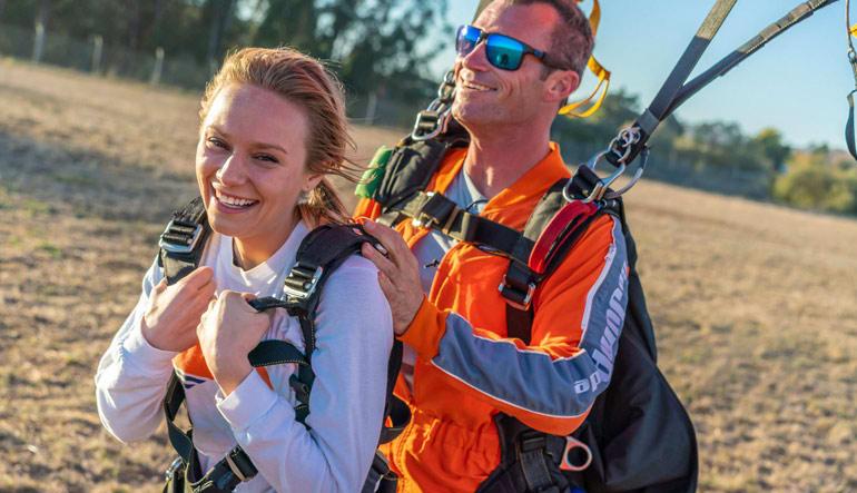 Skydive San Francisco, Santa Cruz Landing