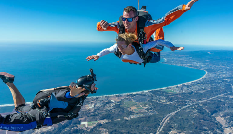 Skydive San Francisco, Santa Cruz Free Fall