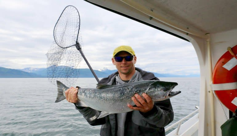 Alaskan Wild Salmon Fishing Tour, Juneau - Half Day