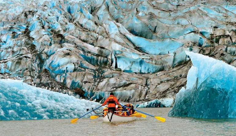 Canoe Adventure Mendenhall Glacier, Juneau - 1.5 hours
