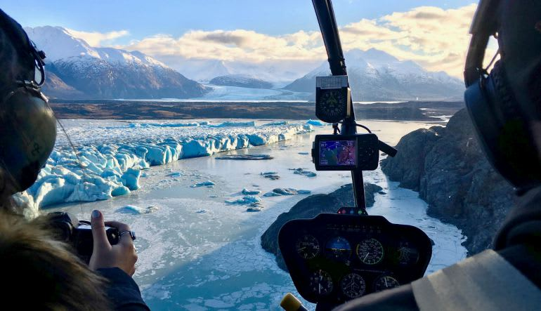 Anchorage Helicopter Tours Glaciers