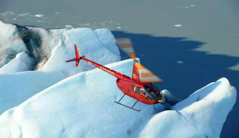 Helicopter Tour Knik River Valley with Glacier Landing, Anchorage - 1 Hour