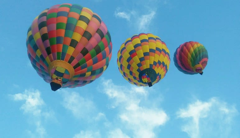 Hot Air Balloon Rides Asheville Colourful