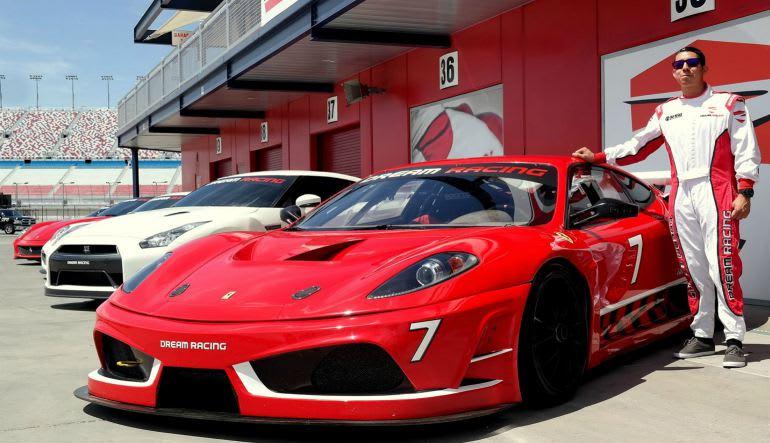 Ferrari F430 GT Racing Car Drive, 16 Laps - Las Vegas Motor Speedway