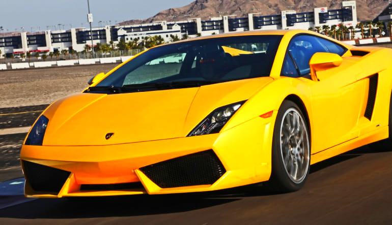 Lamborghini Gallardo Drive - Las Vegas Motor Speedway (Shuttle Included!)