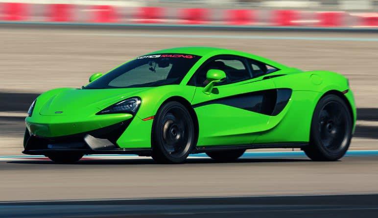 McLaren 570S Drive - Las Vegas Motor Speedway (Shuttle Included!)