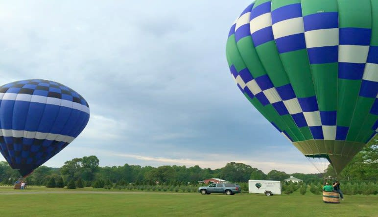Hot Air Balloon Ride Atlanta, Private Basket - 1 Hour Flight