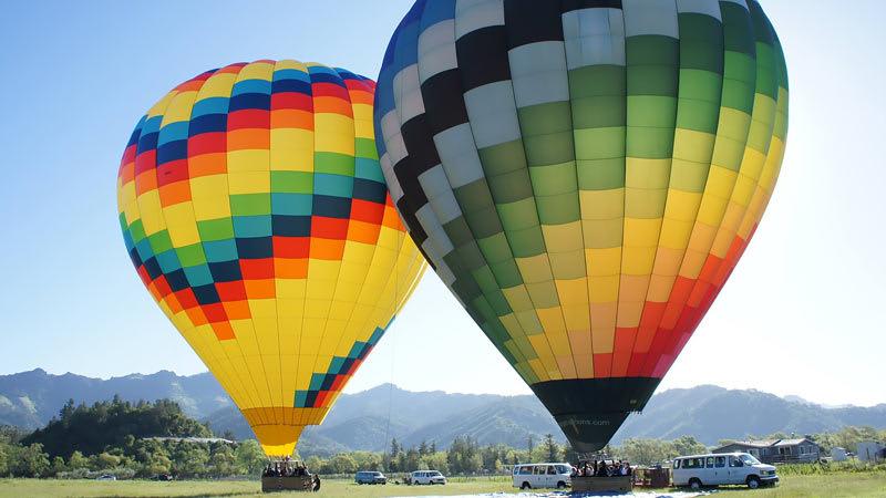 Hot Air Balloon Rides Napa Valley