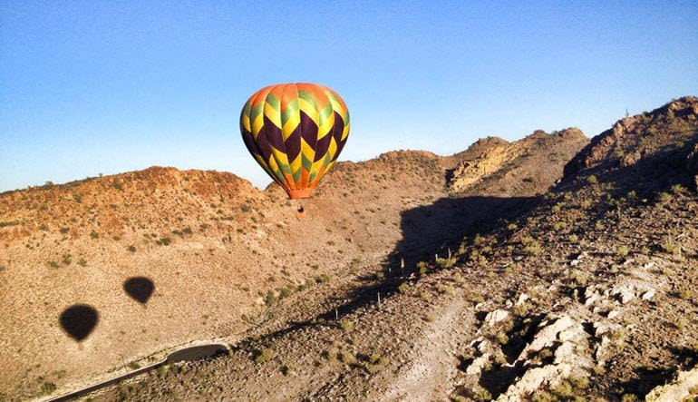 Hot Air Balloon Rides Phoenix Landscape