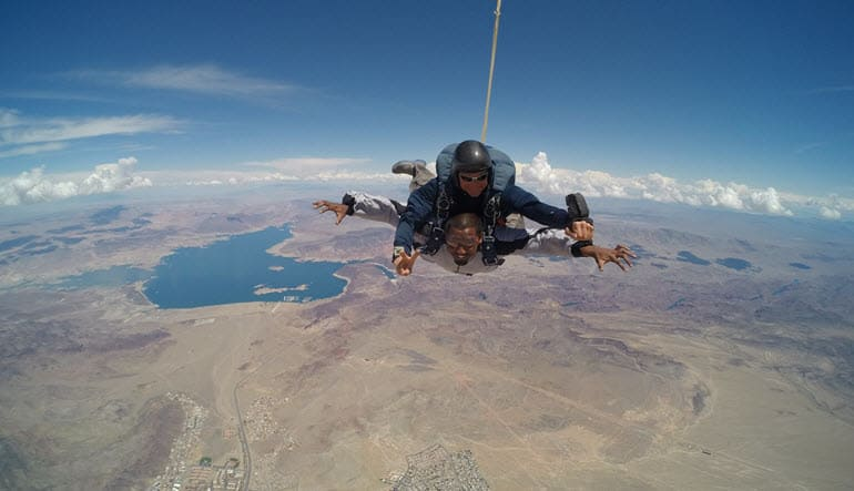 Skydiving Las Vegas Views