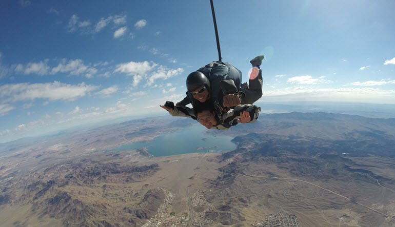 Skydiving Las Vegas Tandem