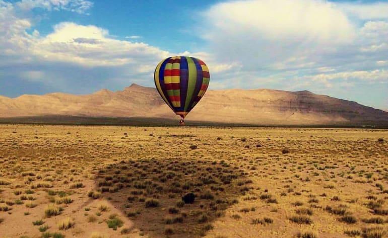 Hot Air Balloon Rides Las Vegas Early Morning